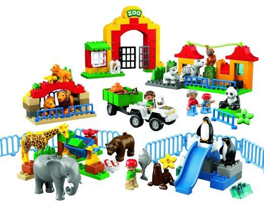 Đồ chơi xếp hình Lego Duplo 6157 - Thảo cầm viên