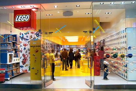 cửa hàng lego