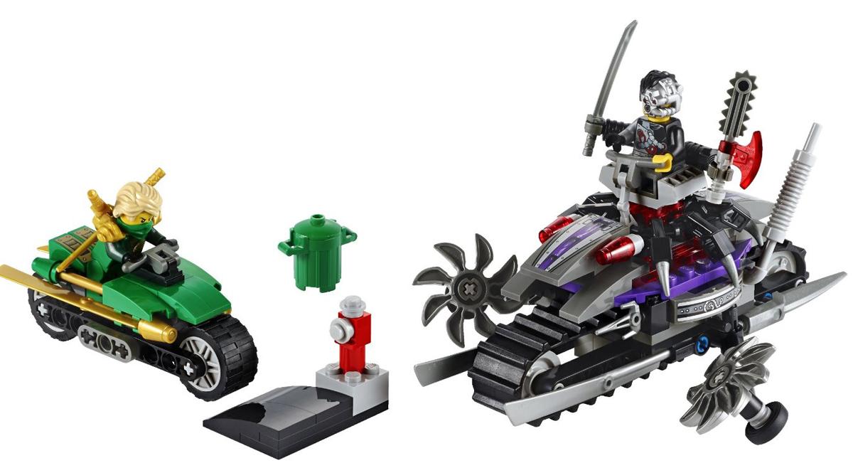Đồ chơi trẻ em thông minh lego ninjago 70722 người máy tấn công