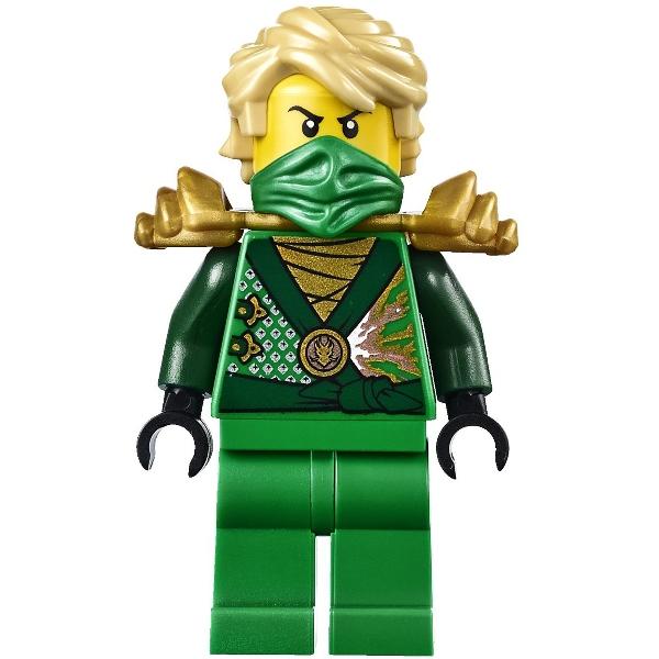 Đồ chơi lego trẻ em ninjago 70722 trang phục xanh lá cây