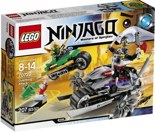 Đồ chơi LEGO Ninjago 70722 - Người Máy Tấn Công