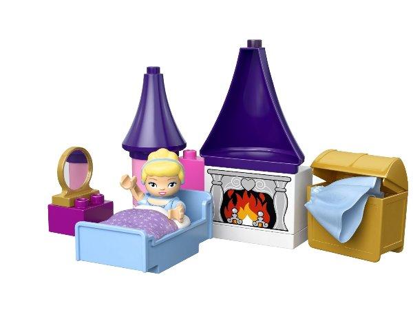 Đồ chơi xếp hình Lego Duplo 6154 - Lâu đài lọ lem