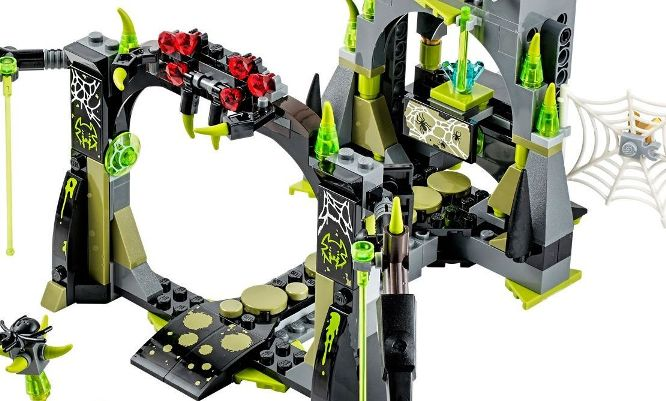 Lego chima 70133 - Hang Nhện Spinlyn