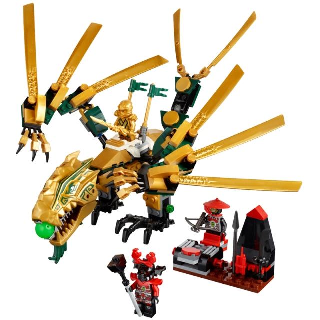 Đồ chơi Lego 70503 - Bộ xếp hình Ninjago rồng vàng