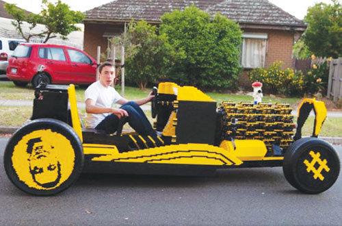 Biến Lego thành xe thật