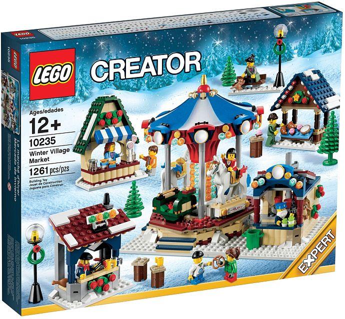 Đồ chơi lego Creater 10235 - Chợ Làng Mùa Đông