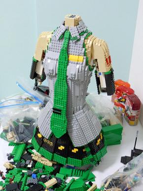 Tuyệt tác nhân vật anime qua những miếng ghép Lego