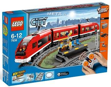 Đồ chơi xếp hình Lego City 7938 - Xe lửa hành khách