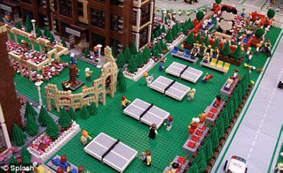 Olympic của những nhân vật Lego