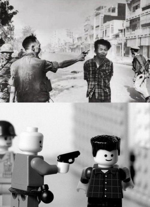 Chiến tranh Việt Nam qua xếp hình Lego