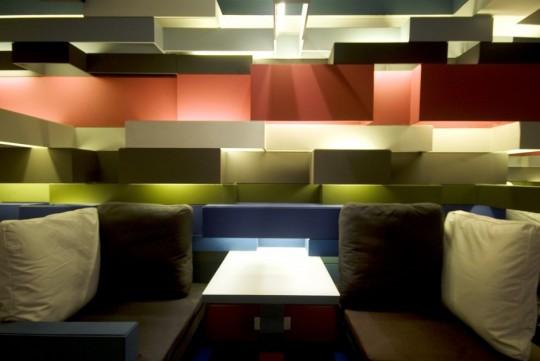 quán cafe mang phong cách lego
