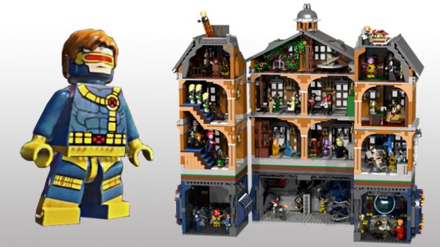 phim X-Men bằng lego