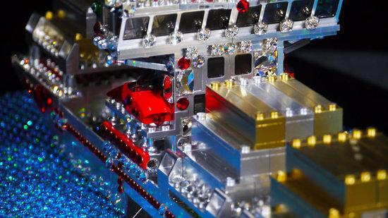 tàu kim cương phong cách lego