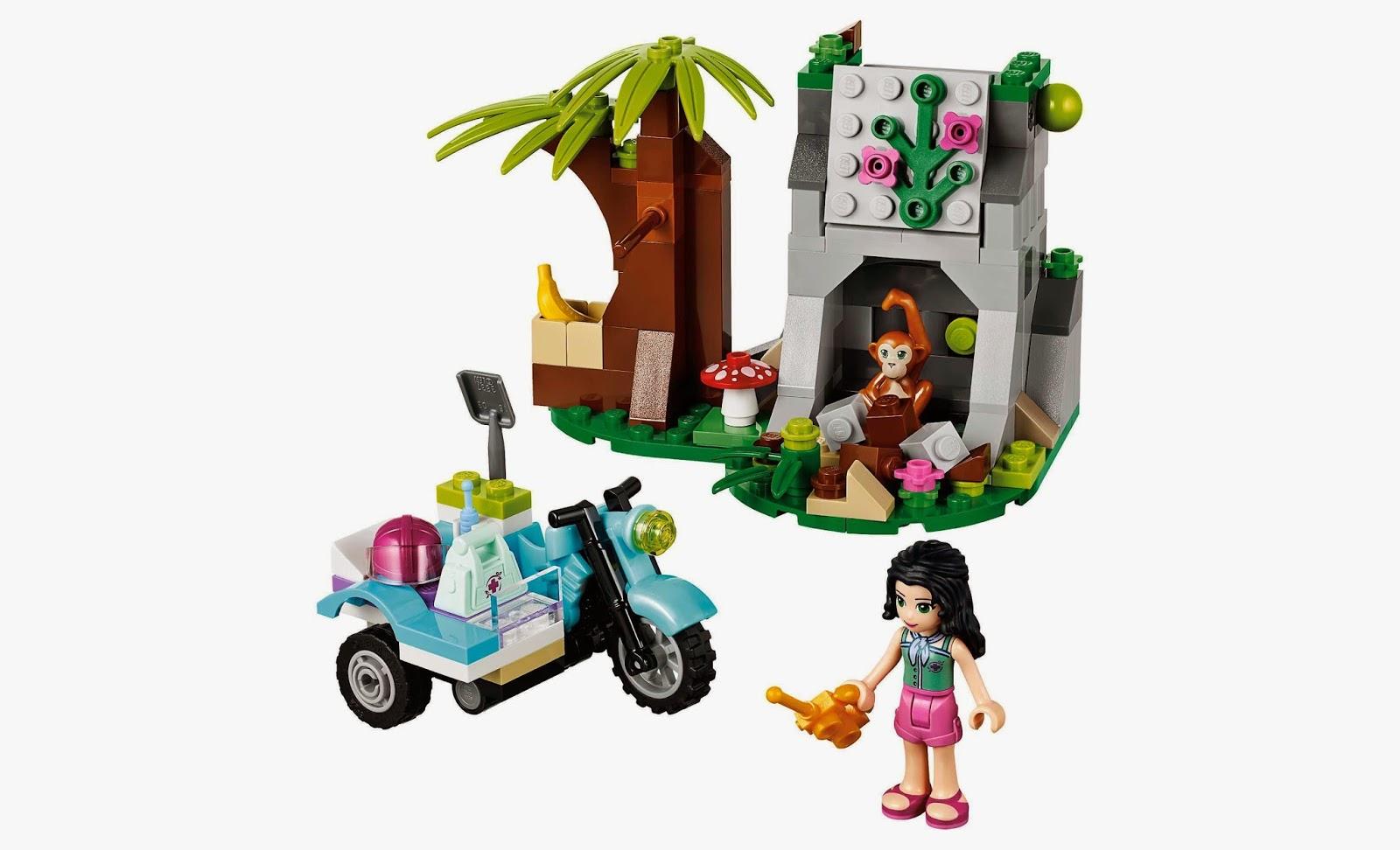 Đồ chơi LEGO Friends 41032 - Trạm xe trong rừng