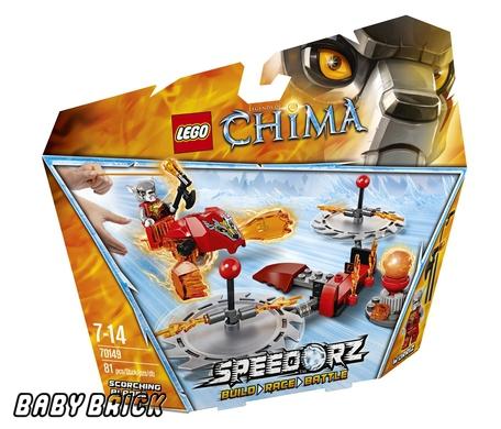 Đồ chơi LEGO 70149 - Thử Thách Lưỡi Cưa
