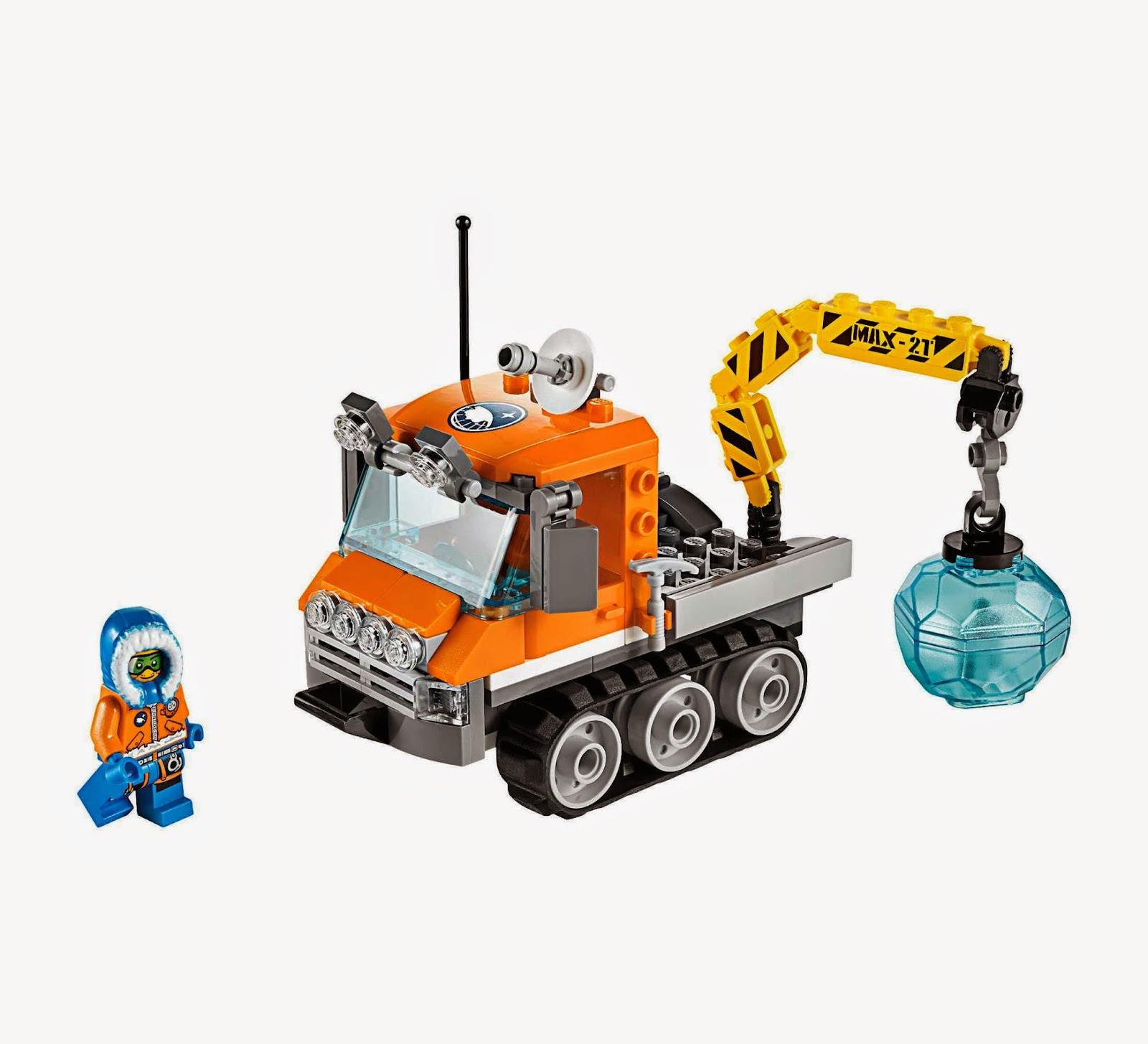 Đồ chơi LEGO 60033 - Xe Chuyên Dụng Bắc Cực