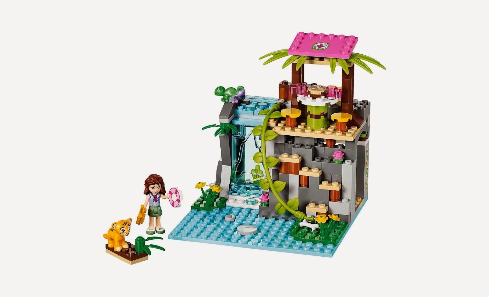 Đồ chơi LEGO Friends 41033 - Cứu hộ tại thác nước