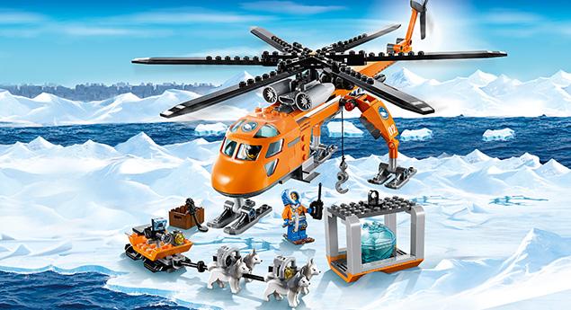 Đồ chơi LEGO 60034 - Trực Thăng Bắc Cực