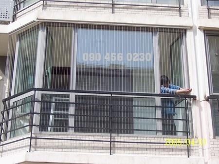 Cáp lưới bảo vệ cửa sổ