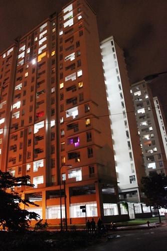 Lưới an toàn chung cư bình khánh