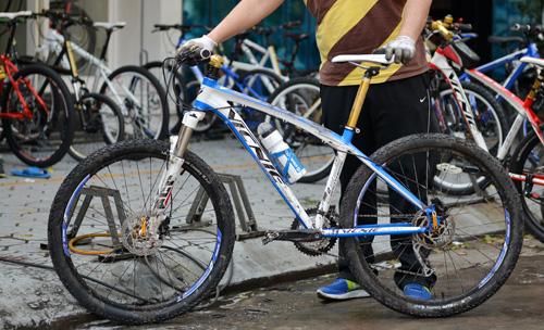 bảo dưỡng xe đạp địa hình