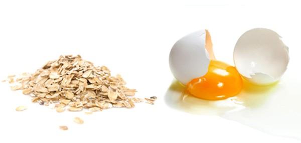 Kết quả hình ảnh cho mặt nạ yến mach và trứng gà