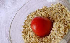 thắp sáng làn da trắng hồng rạng rỡ cùng yến mạch cà chua