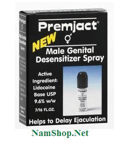 Chai xịt trị xuất tinh sớm Premjact male spray