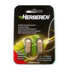 Thuốc uống tăng cương, chống xuất tinh sớm Herberex