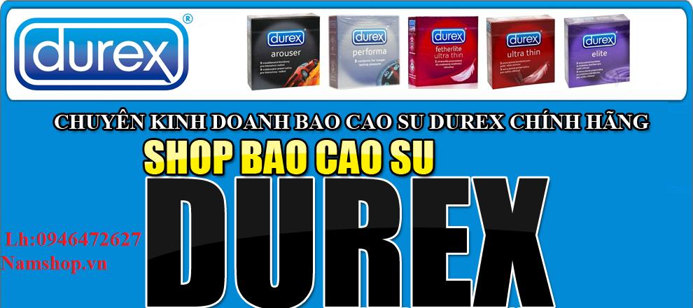 Bao cao su, gel bôi trơn Durex