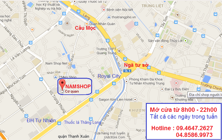 Địa chỉ Shop người lớn Hà Nội Namshop