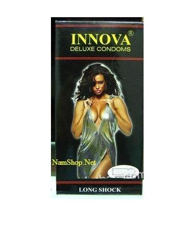 Bao cao su Innova có gai gân và kéo dài thời gian quan hệ