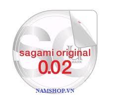 BCS Sagami Original 0,02 được đóng hộp rất cao cấp