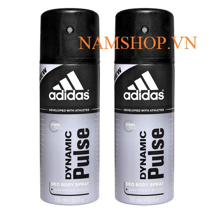 Xịt khử mùi hương nước hoa Adidas dynamic pulse