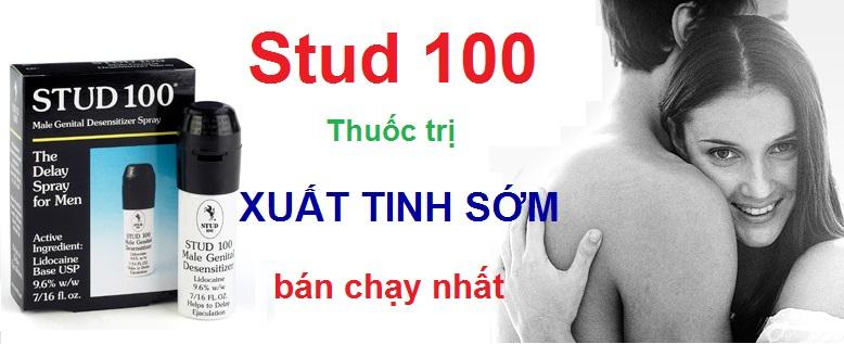Stud 100 spray giúp chống xuất tinh sớm nam giới hiệu quả