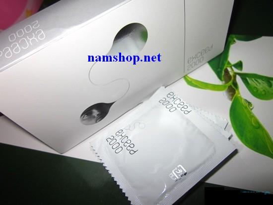 Bao cao su sagami Exceed 2000 mỏng và chống dị ứng