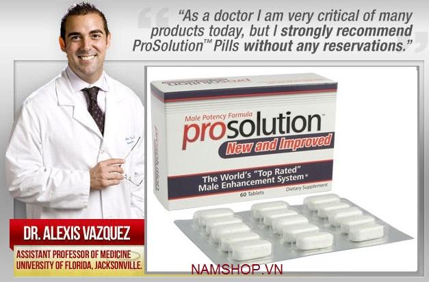Prosolution Pills thuốc uống chống xuất tinh sớm, tăng kích cỡ DV