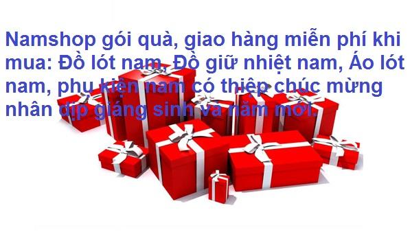 Gói quà miễn phí, giao hàng miễn phí
