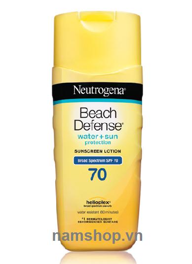 Kem chống nắng cho nam và nữ Neutrogena Beach defense SPF 70
