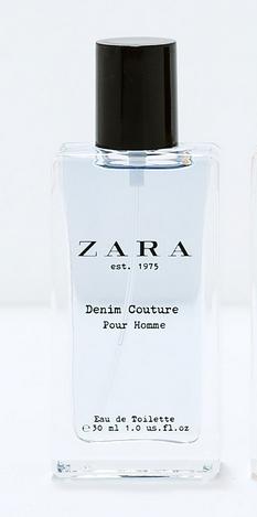 Nước hoa nam Zara Denim Couture Pour Homme