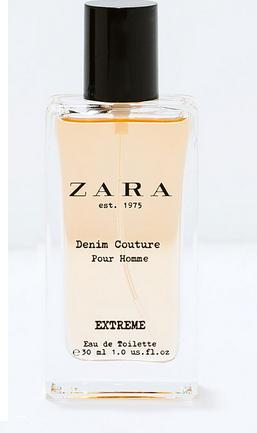 Nước hoa nam Zara Denim Xtreme