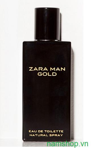 Nước hoa nam Zara Man Gold chính hãng Tây Ban Nha
