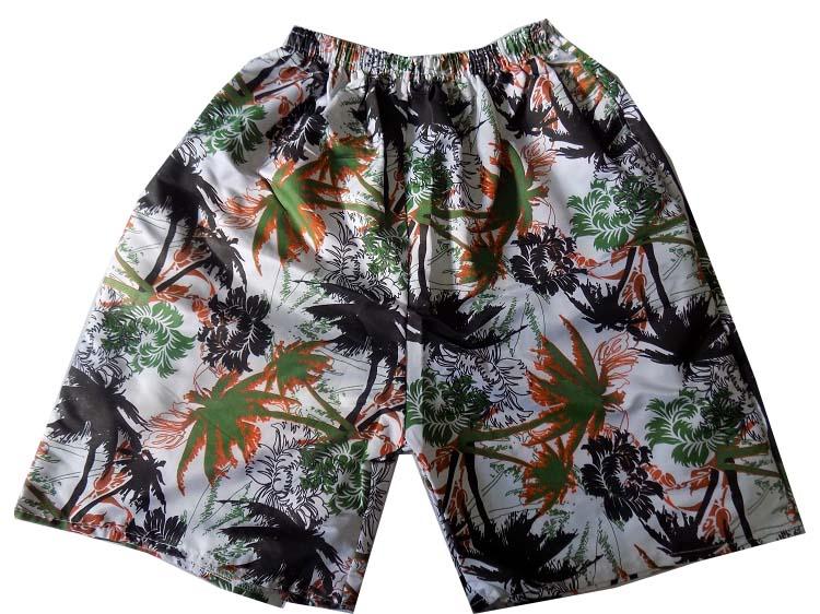 Quần short họa tiết cây dừa cho nam
