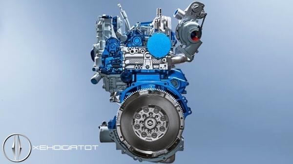 động cơ Ford Ecoblue Turbodiesel 2.0L mới