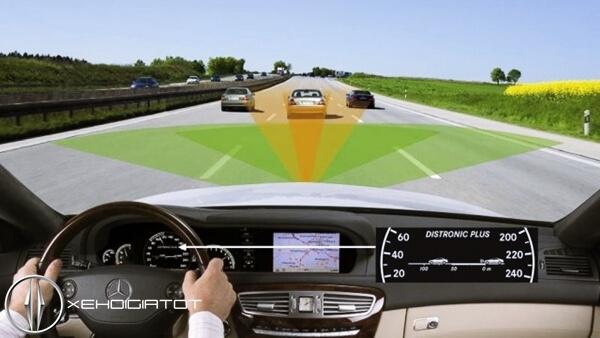 hệ thống điều khiển hành trình xe ô tô