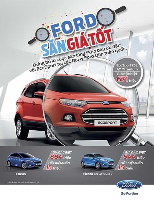 Săn giá tốt xe Ford