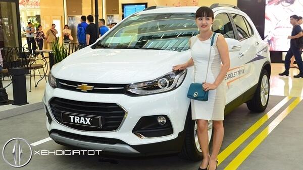 Chevrolet Trax 2017 mới