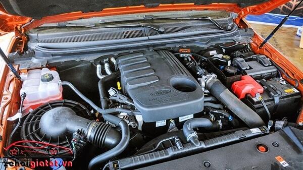 động cơ xe Ford Ranger Wildtrak 3.2