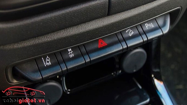 Hệ thống an toàn xe Colorado High Country