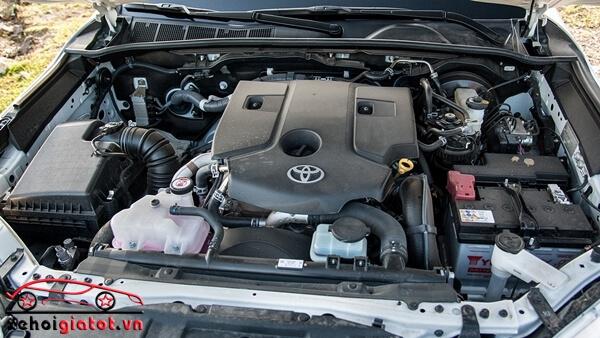 Động cơ xe Toyota Hilux 2.8 G AT